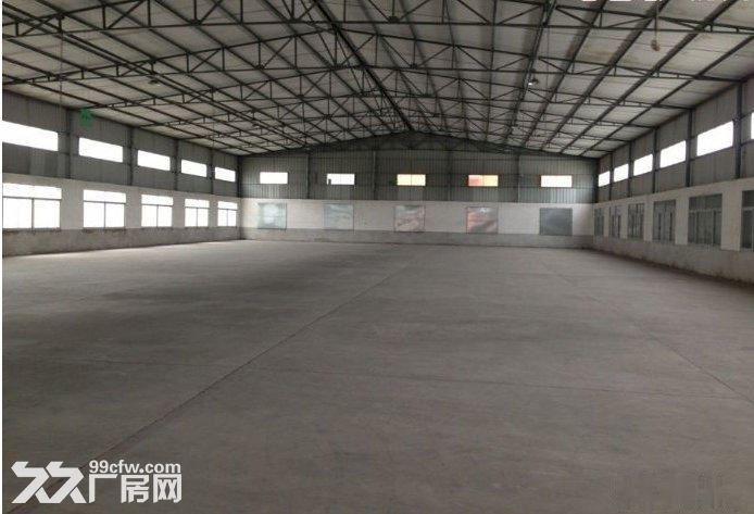 北峰普贤路旁1000㎡挑高钢结构厂房出租-图(3)