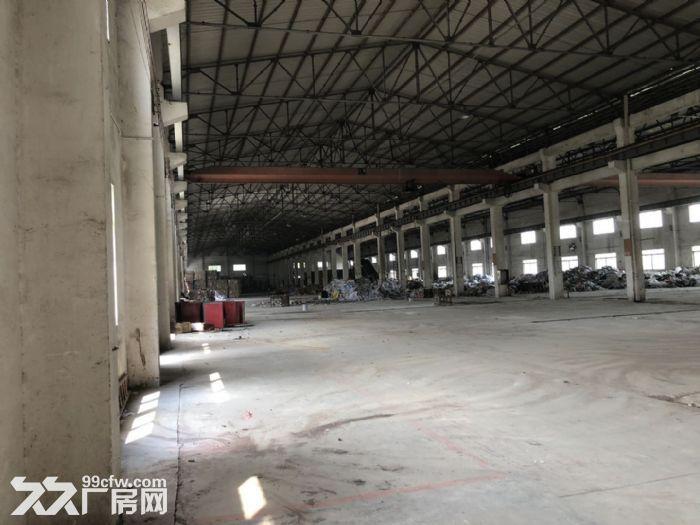 杜阮北2500方厂房出租带吊车适合机械物流等行业-图(3)