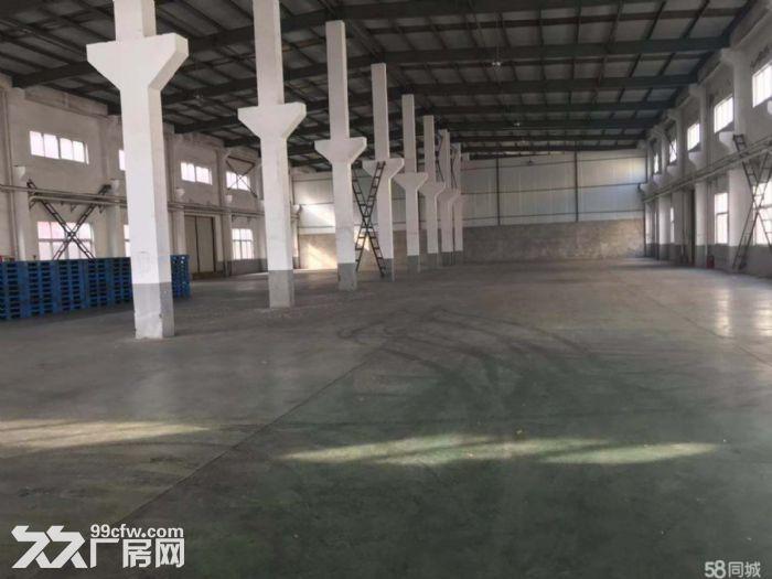 马陆工业区全单层层高9米六栋厂房出租:2幢办公宿舍.总面积22180平米。-图(1)