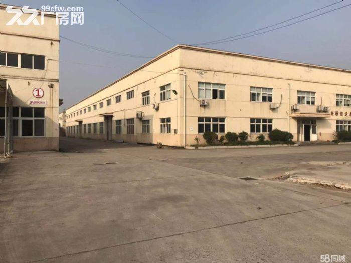 马陆工业区全单层层高9米六栋厂房出租:2幢办公宿舍.总面积22180平米。-图(3)
