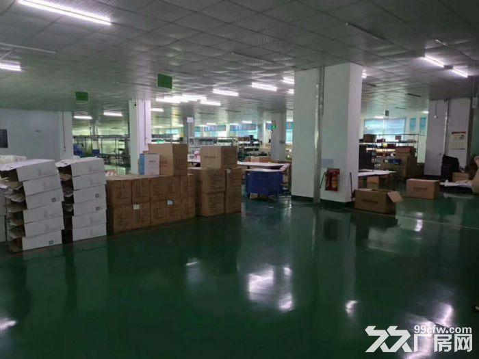 清溪新出标准厂房2250平,无尘车间带流水线台-图(1)