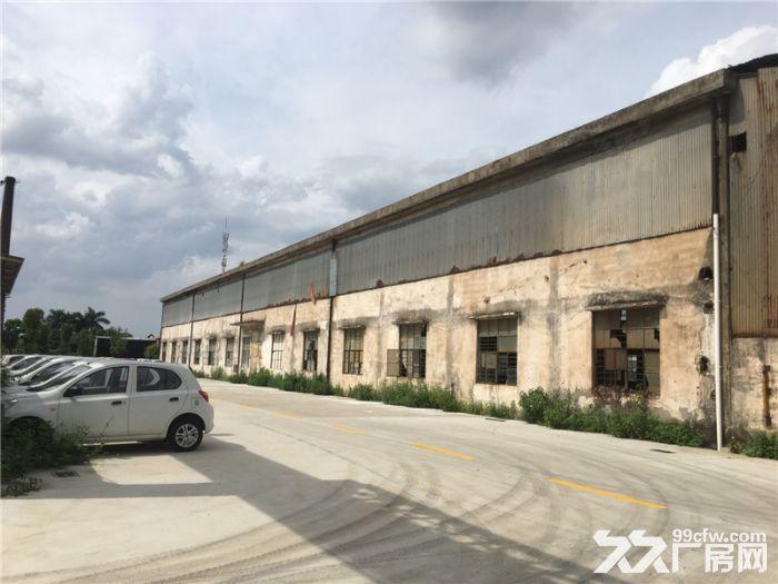 空地大,中高16米,10吨天车,番禺区市桥街10000平方简易天车厂房出租-图(2)