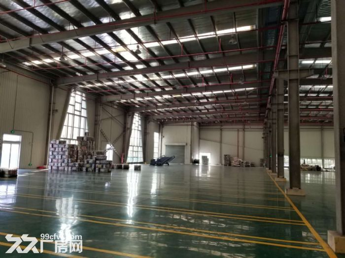 苏州吴江好地段一幢6100平米单层行车厂房出租-图(2)