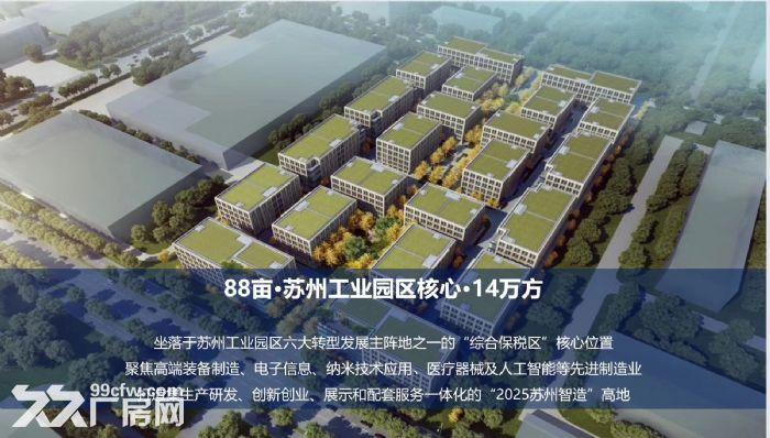 非中介苏州胥口、木渎、甪直、园区、常熟新建产业园独栋厂房售租50年国土-图(5)