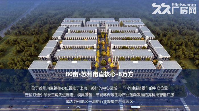 非中介苏州胥口、木渎、甪直、园区、常熟新建产业园独栋厂房售租50年国土-图(6)