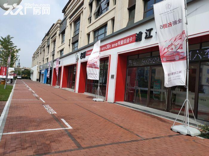 浦江临街地铁旁1100平可做汽车4S店展示展厅104可环评-图(1)