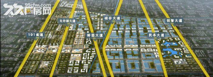 江淮机电产业园6000亩,土地分割出售-图(2)