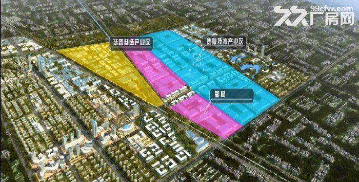 江淮机电产业园6000亩,土地分割出售-图(3)