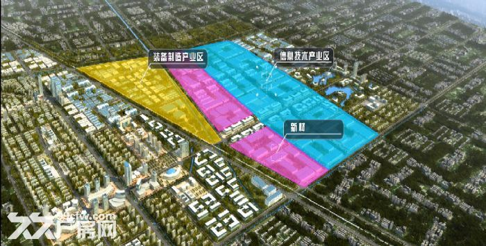 6000亩,江淮机电产业园,正式招商-图(1)