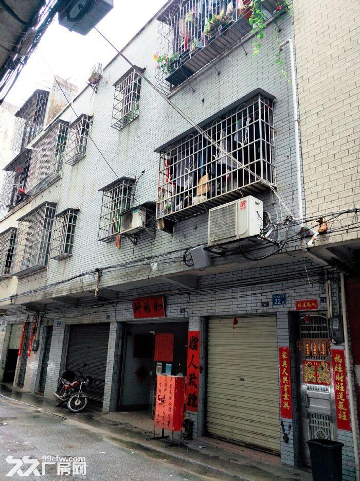 从化区太平镇内街51平方土地商铺一栋三层165平方楼房转让-图(1)
