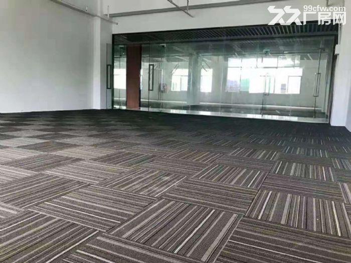 坂田杨美地铁站500米新装修办公室144平至2000平大小可分-图(1)