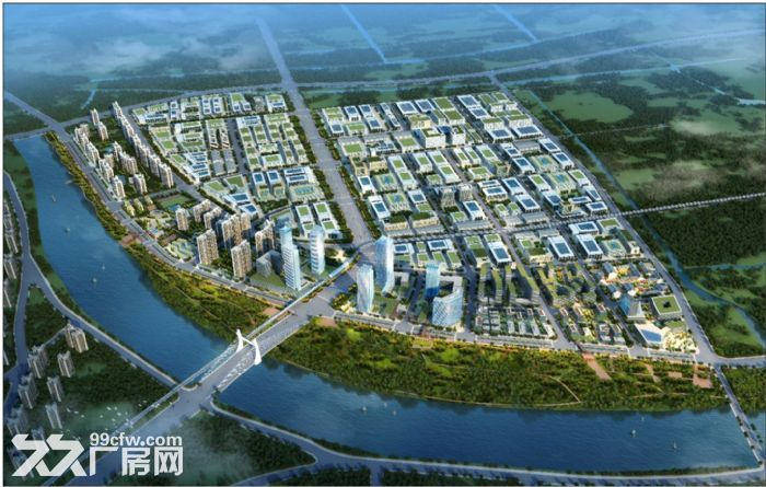 售中山市智能装备制造产业园全新厂房50年产权方数可选-图(2)