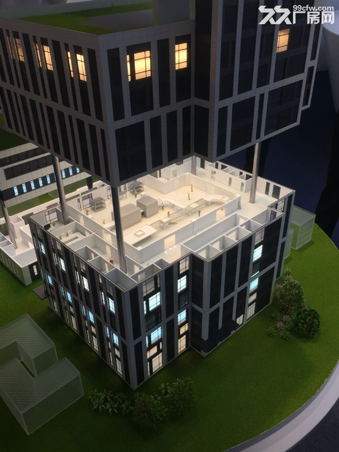售中山市智能装备制造产业园全新厂房50年产权方数可选-图(3)