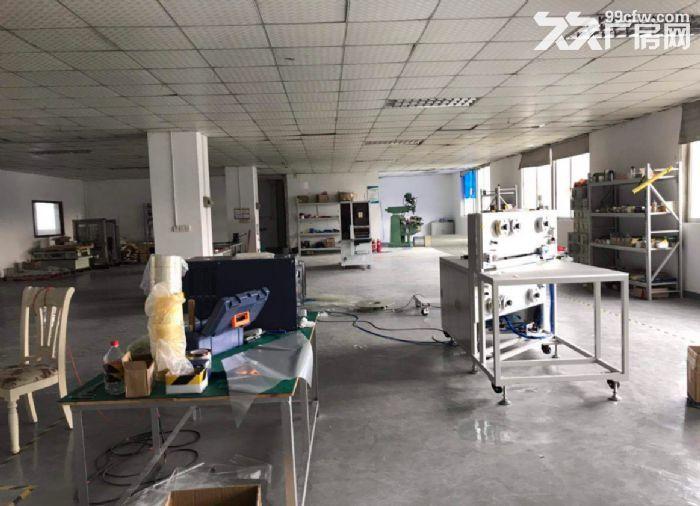 广州白云新出楼上500平,带精装办公室,水电到位厂房-图(1)