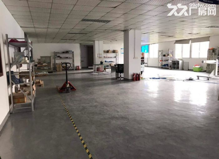 广州白云新出楼上500平,带精装办公室,水电到位厂房-图(3)