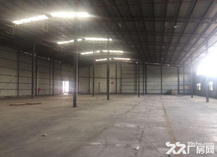 广州白云新出3200平,钢构厂房13米高,带卸货平台厂房-图(1)