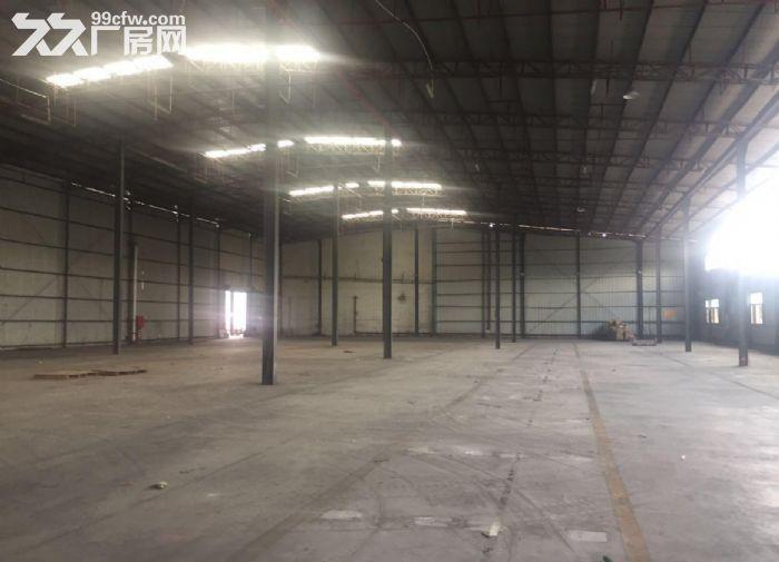 广州白云新出3200平,钢构厂房13米高,带卸货平台厂房-图(5)