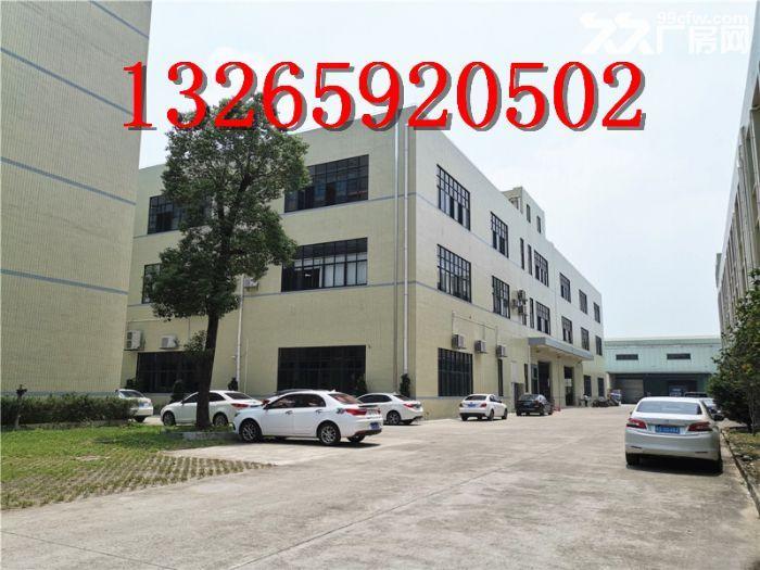 一线大路边,有证,南沙大岗5000平方标准厂房出租-图(6)