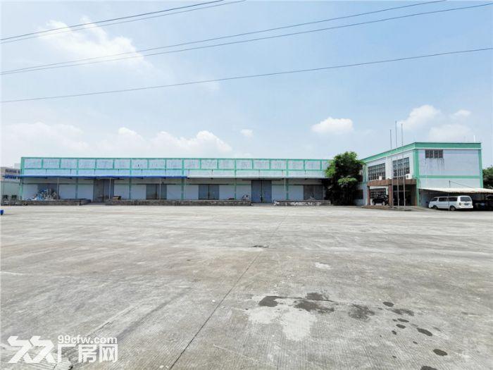 空地大,有卸货台,南沙榄核2000平方简易仓库出租-图(2)