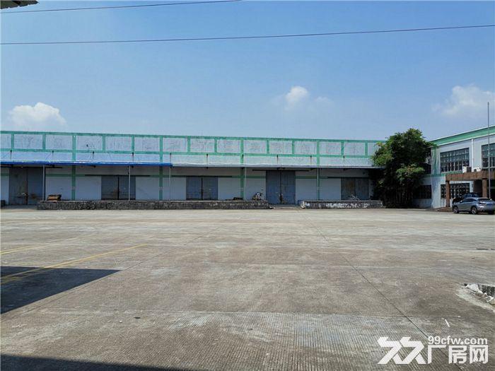 空地大,有卸货台,南沙榄核2000平方简易仓库出租-图(3)