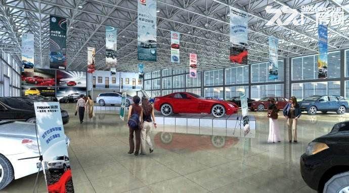 (出租)可环评!独栋独门独院!单层11米可做汽车4S店展厅维修喷漆.6千平可分-图(8)