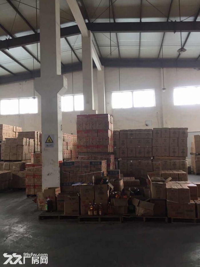 亭林镇2400平方吨独院单层厂房仓库出租,配电足-图(1)
