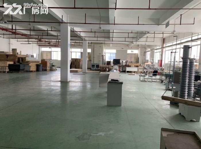 东莞周边楼上标准900方厂房出租方正整洁面积实在-图(2)