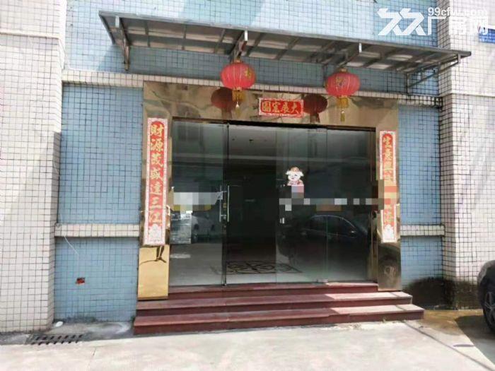 凤岗重工业标准一楼厂房出租2600平方带牛角可办环评-图(3)