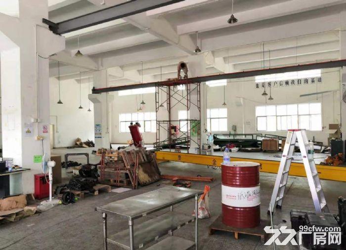 广州白云一楼1000平装修带阁楼行车厂房出租-图(3)