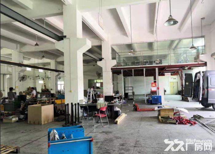 广州白云一楼1000平装修带阁楼行车厂房出租-图(2)