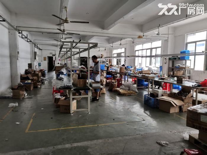 现成装修水电办公室凤岗雁田二楼小面积厂房400平拎包入驻-图(1)