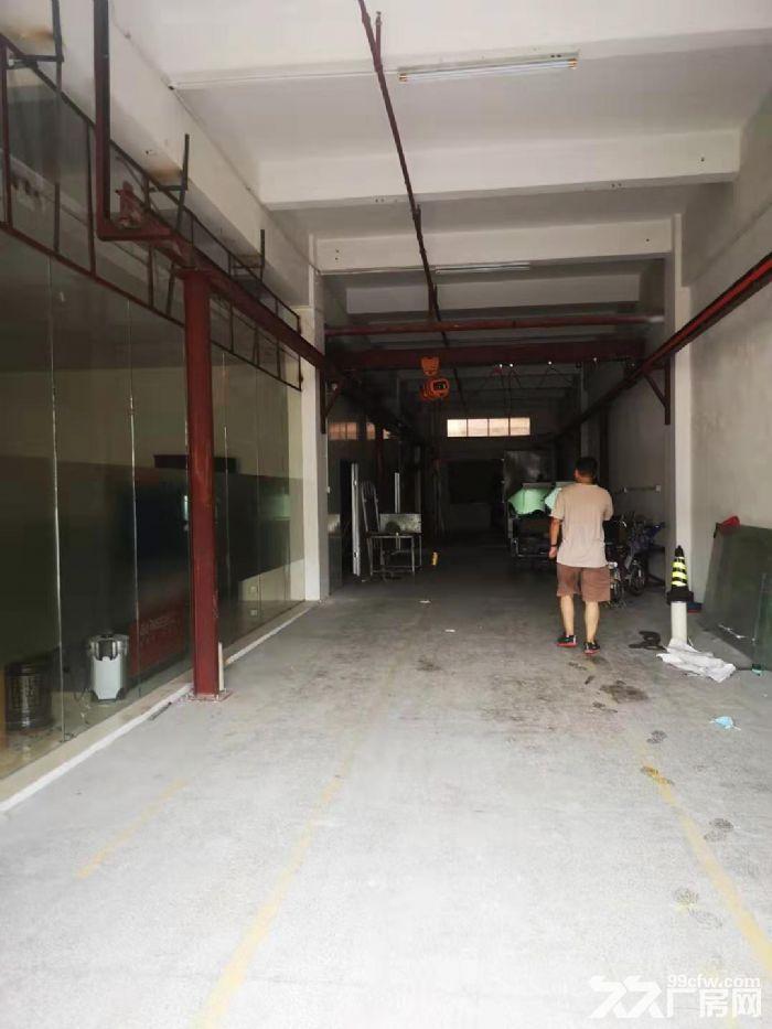清溪谢坑一楼小面积厂房出租340平带宿舍现成装修办公室-图(1)