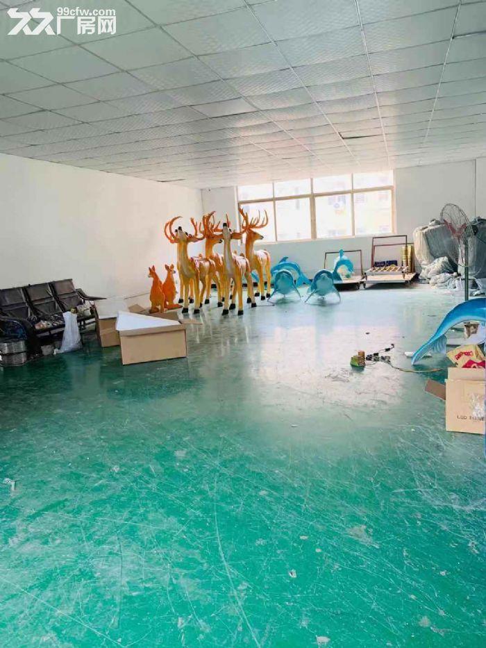 出租新会附近楼上2500方标准厂房,带装修办公室,可分租-图(1)
