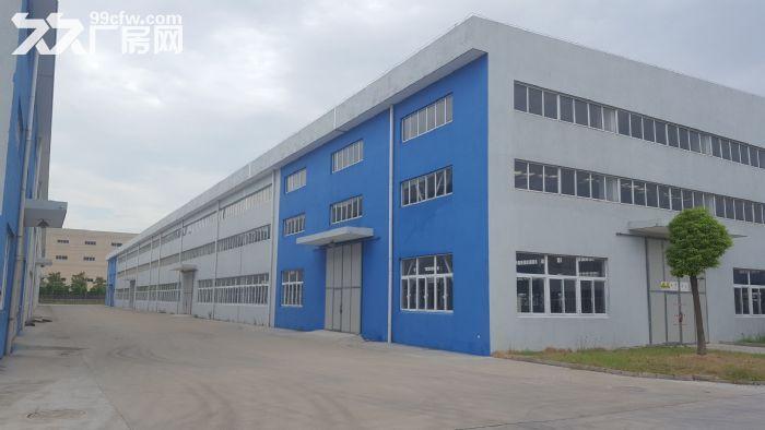 (新出!)吴江单层机械厂房4200、6000、12000平米厂房出租同津大道-图(1)