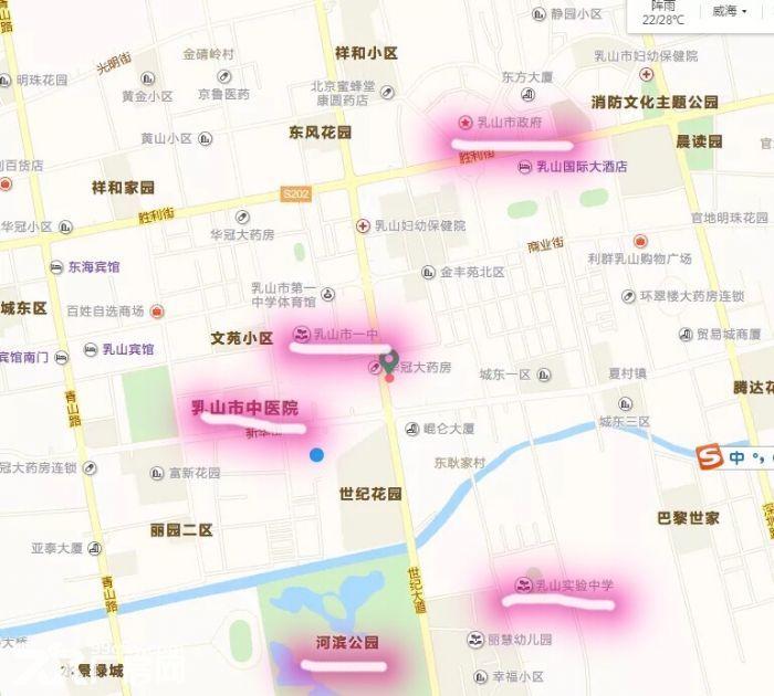 乳山市中心世纪大道临街5000平厂房办公楼出租(临近振华购物中心)-图(5)