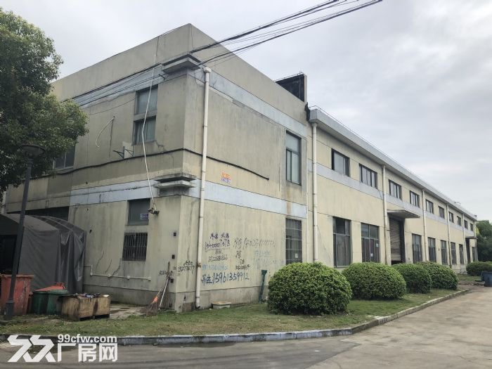 青浦香花桥崧泽大道力惠工业园区厂房原房东-图(1)