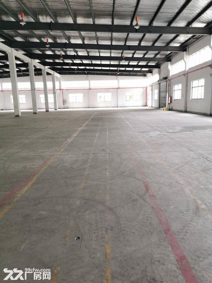 苏州高新区金山路边一楼3100平米标准机械厂房出租-图(1)