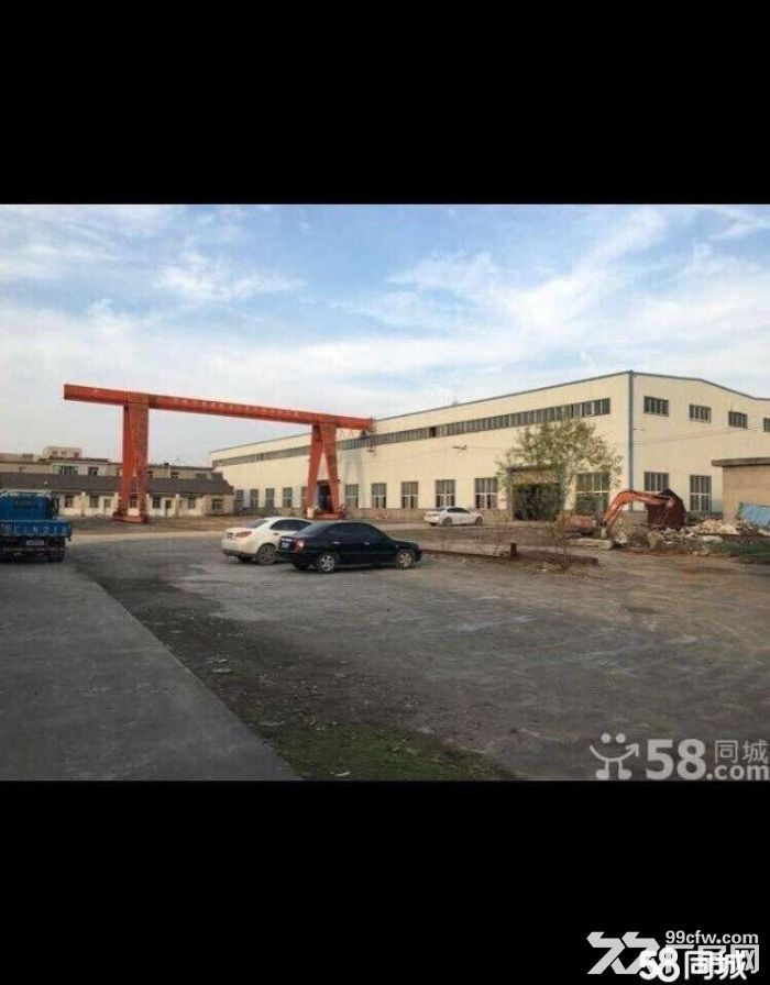 马鞍山慈湖高薪区厂房和场地出租,场地有一百吨地磅-图(1)