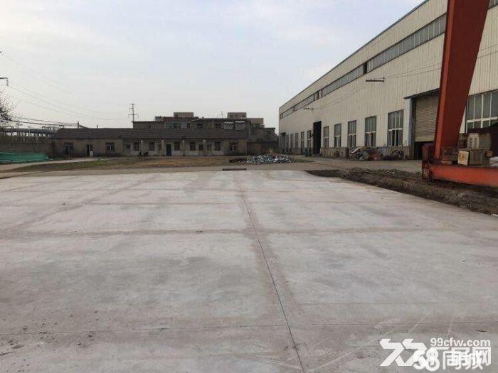 马鞍山慈湖高薪区厂房和场地出租,场地有一百吨地磅-图(4)
