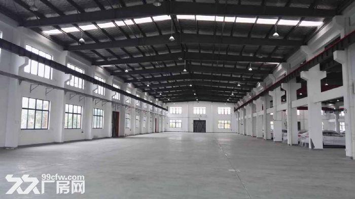 浦东机场旁全单层三万方仓库出租丙二类消防场地10亩-图(2)