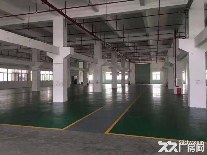 塘厦莆心湖花园式一楼标准厂房出租2600平双证齐全-图(1)