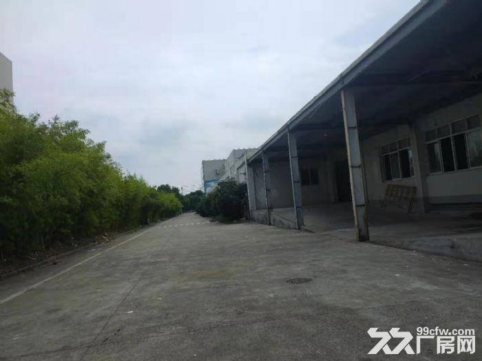 松江城区独门独院单层8000平米厂房出租位置好-图(1)