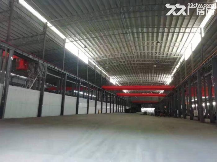 主干道边高16米,精装办公室带天车,东涌独院简易厂房出租-图(2)
