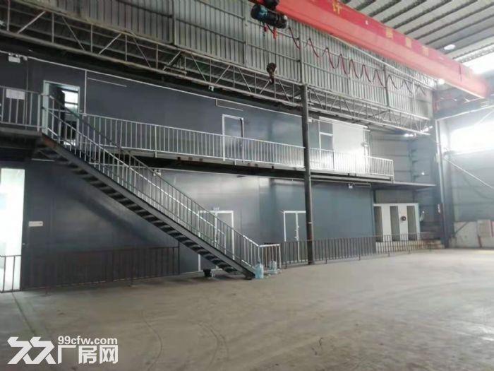 主干道边高16米,精装办公室带天车,东涌独院简易厂房出租-图(4)