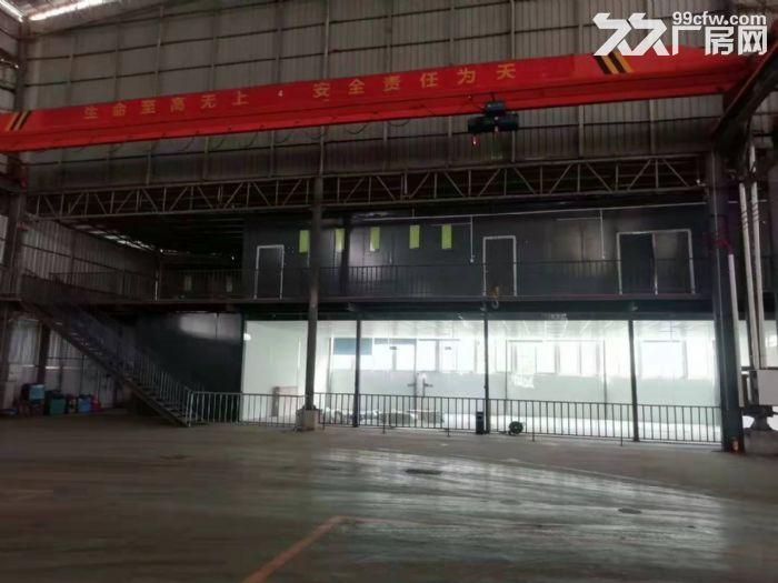 主干道边高16米,精装办公室带天车,东涌独院简易厂房出租-图(5)
