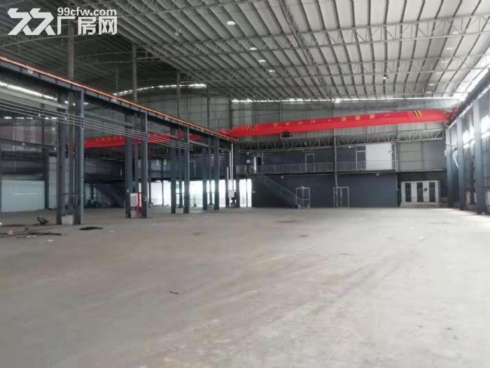 主干道边高16米,精装办公室带天车,东涌独院简易厂房出租-图(6)
