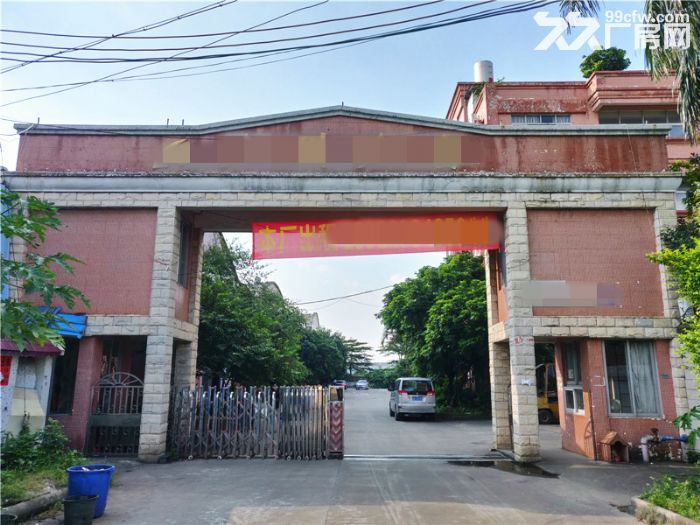 独门独院,空地大,番禺石基8300平方简易厂房出租-图(1)