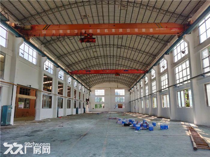 独门独院,空地大,番禺石基8300平方简易厂房出租-图(8)