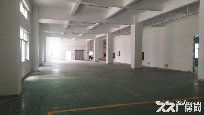 龙华清湖地铁口附近新出一楼1200平标准厂房出租-图(1)