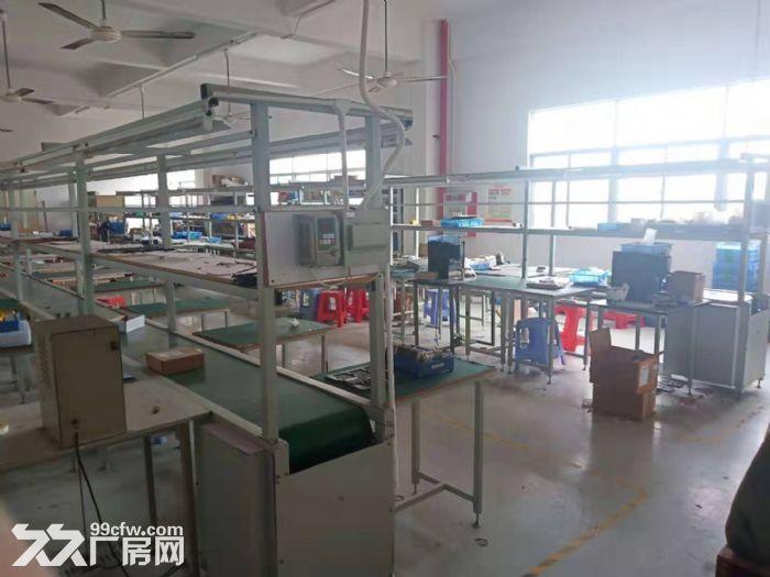凤岗楼上带装修厂房出租500平电子材料配件-图(1)